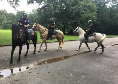 Mounted Patrol at Friends Event 2020